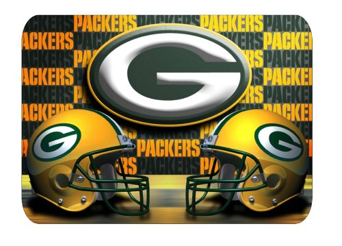 NFL Green Bay Packers Mouse pad Football Helmet design at Amazon.com
