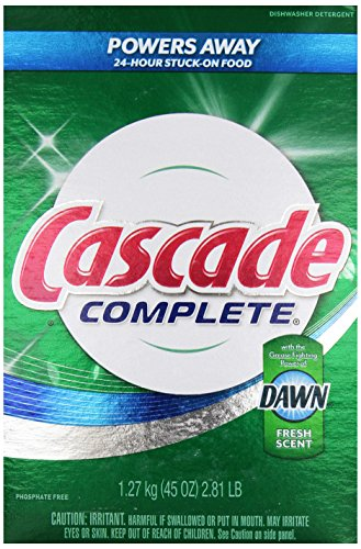 Cascade Complete All-In-1 Powder 45 Oz