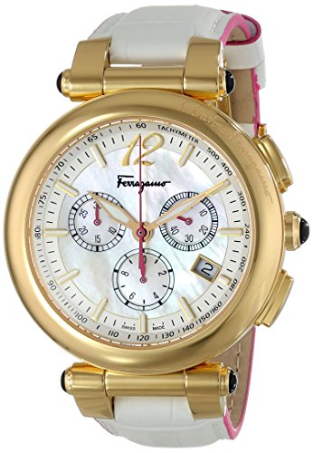 Salvatore-Ferragamo-Womens-FI3020014-IDILLIO-Analog-Display-Swiss-Quartz-White-Watch