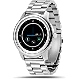 LEMFO LEM1 Smart Watch Bluetooth SmartWatch Fitness Tracker For IOS Android Stainless Steel With Stainless Steel...