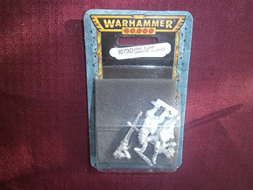 Warhammer 40K Dark Eldar Warrior w/ Lance (Metal Blister)
