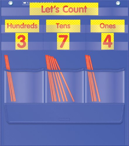 Counting Caddie and Place Value Pocket Chart (Days In School Chart compare prices)