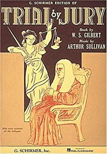 "Cover of ""Trial by Jury: Vocal Score"""