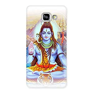 Stylish Blessings Of Shiva Back Case Cover for Galaxy A5 2016