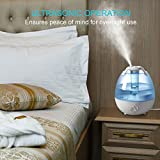 Ultrasonic Cool Mist Humidifier, Anypro 3.5L Anti-mold Air Humidifiers with Super Quiet Operation, Automatic Shut-off, and Variable Night Lights
