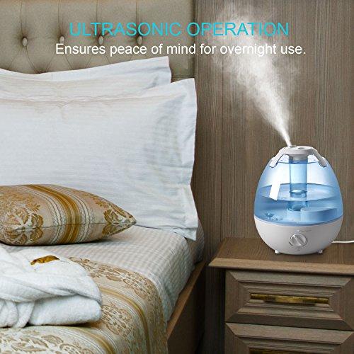 Ultrasonic Cool Mist Humidifier,