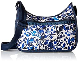 LeSportsac Classic Hobo Handbag, Blooming Silhouettes, One Size