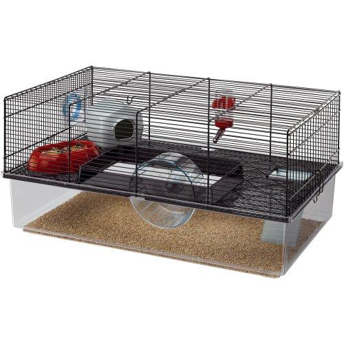 Ferplast Hamster Cage, Black 51PMbmSCCXL hamster cages Hamster Cages | Toys | Balls | Treats | Bedding 51PMbmSCCXL