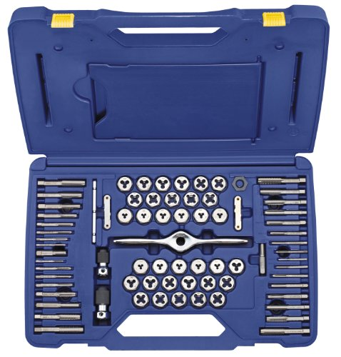 Irwin Tools 1841350 Performance Threading System Self-Aligning Tap and Die Set, 75-Piece (Irwin Sae Tap And Die Set compare prices)