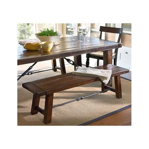 Pottery barn benchwright bench home and for Pottery barn bench plans