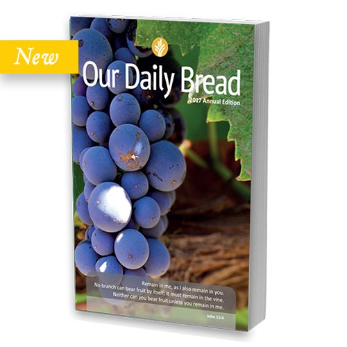 Our Daily Bread 2017 Annual Edition - English price comparison at Flipkart, Amazon, Crossword, Uread, Bookadda, Landmark, Homeshop18