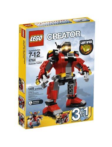 Lego Creator Rescue Robot 5764 front-863972