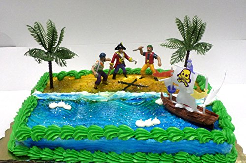 Cakesupplyshop Cjp998 Pirate Ship Pirate Revenge Cake Decoration Cake Topper - 1
