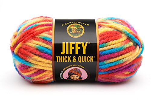Lion Brand Yarn 430-208B Jiffy Thick and Quick Yarn, Rocky Mountains (Super Thick Yarn compare prices)