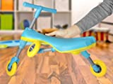 Fly Bike® Foldable Indoor/Outdoor Toddlers Glide Tricycle - Blue