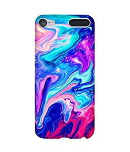 Marble Multi Printed Back Cover Case For Apple iPod Touch (6th Generation)
