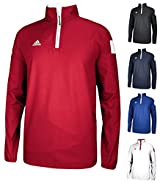 Adidas 6815 Men's Climaproof® Shockwave Woven 1/4 Zip (Call 1-800-327-0074 to order)