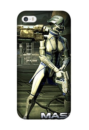 Iphone 5/5S/Iphone SE Case, [Drop Protection] Scratch Resistant Perfect-Fit Shock Absorbing Non-Slip Game Mass Effect 3 Hard Armor Case