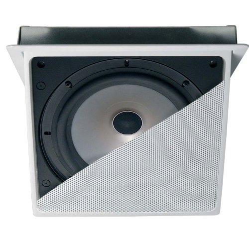 Kef Ci200.3Qt Rectangle Motorized In-Ceiling Architectural Loudspeaker (Single)