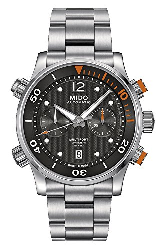 mido-m0059141106000-multifort-mens-watch-black-dial-stainless-steel-case-automatic-movement