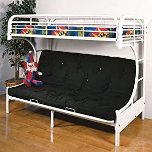 eclipse twin over full futon bunk bed uses a