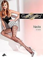 Gabriella Femmes Collants à Motif Mode GB 367 20 DEN