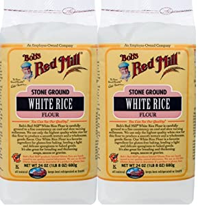Amazon.com : White Rice Flour Gluten Free, Bobs Red Mill