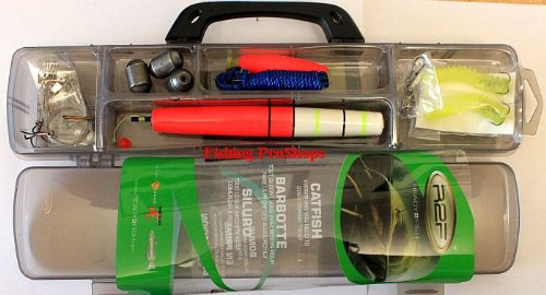 South Bend R2F Catfish Tackle Kit - w/case