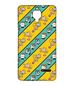 Dexter & Dee Dee See Stripes - Case for OnePlus Three