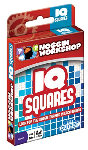 Outset Media Noggin Workshop IQ Squares Puzzle - 1