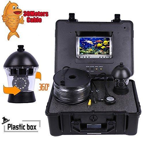 Vanxse 7 tft lcd sony ccd 800tvl hd underwater video for Underwater fishing camera