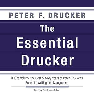 The Essential Drucker | Livre audio
