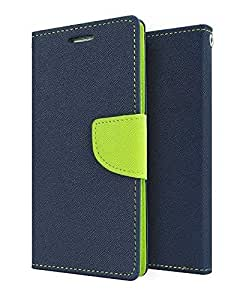 Samsung Galaxy J2 Flip Cover By Online Street (Blue Green)