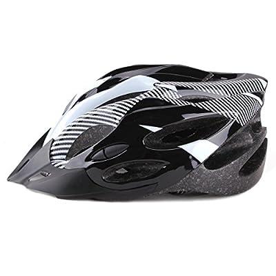 "UNIQUEBELLA Unisex Men PVC EPS Protecting Road Bike Racing Bicycle Cycling Helmet, Ultra Lightweight Mountain Racing Helmet Adjustable 21""-24""(54 ~ 63 cm) by UNIQUEBELLA"