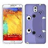 Head Case Designs Hippopotamus Animal Patches Soft Gel Back Case Cover for Samsung Galaxy Note 3 N9000 N9002 N9005