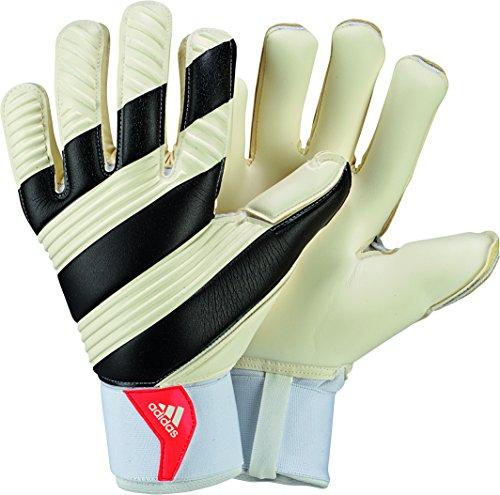 Adidas Classic Pro Guanti di Portiere, Multicolore (White/Black/Solar Red), 9.5