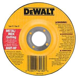 DEWALT DW8420 4-Inch by .045-Inch by 5/8-Inch Metal/INOX Cutting Wheel