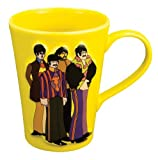 Vandor 64001 The Beatles Sculpted Mug, Submarine, Yellow, 14-Ounce