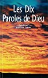 img - for les dix paroles de Dieu book / textbook / text book