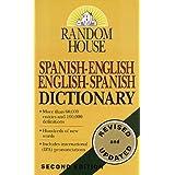 Random House Spanish-English English-Spanish Dictionary ~ Margaret H. Ravent�s