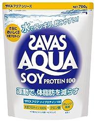 ザバス (SAVAS)  アクア ソイプロテイン 100 700g
