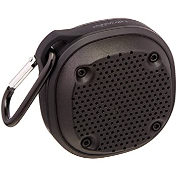 AmazonBasics Shockproof and WaterproofBluetooth Wireless Mini Speaker