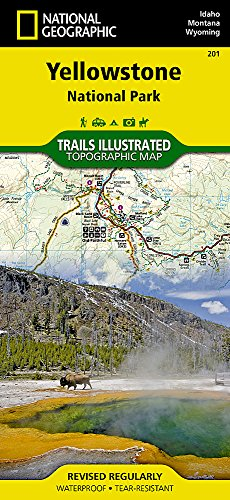 Yellowstone National Park: NG.NP.201 (Trails Illustrated Map)