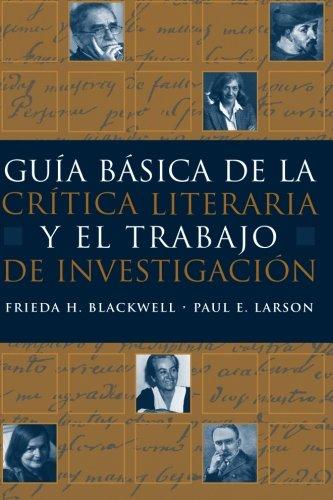 Guia básica de la critica literaria y el trabajo de...