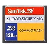 SanDisk Shoot & Store - Flash memory card - 128 MB - CompactFlash
