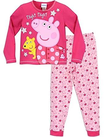 Peppa Pig Girls' Peppa Pig Night Night Pajamas