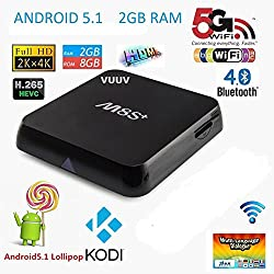 Vuuv M8S + Android 5.1 M8S Smart TV Box