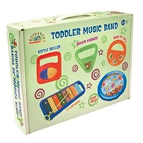 Hohner幼儿乐器五件套Music Band不含BPA,历史最低$25.47,