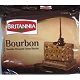 Britannia Bourbon Chocolate Flavoured Cream Biscuits