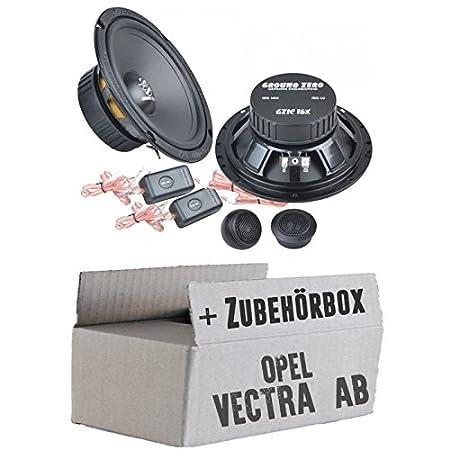 Kit de montage OPEL VECTRA A, B-Ground Zero GZIC 16x-Système de haut-parleur-16cm